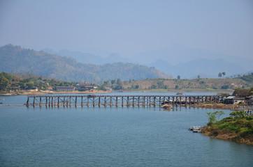 Saphan Mon - The 400m wooden bridge
