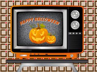 pattern halloween tv