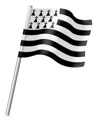 Drapeau breton, Gwenn ha Du