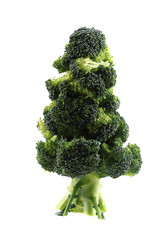 christmas tree from brocolli