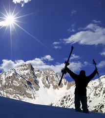 randonnée en ski