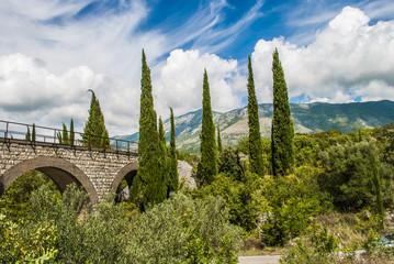 Stone Bridge in Beautiful Nature