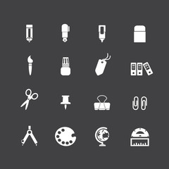 stationery icons