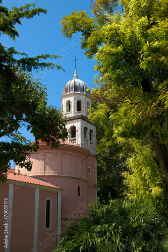 canvas print picture Kirche in Zadar