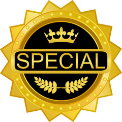 Special Gold Badge