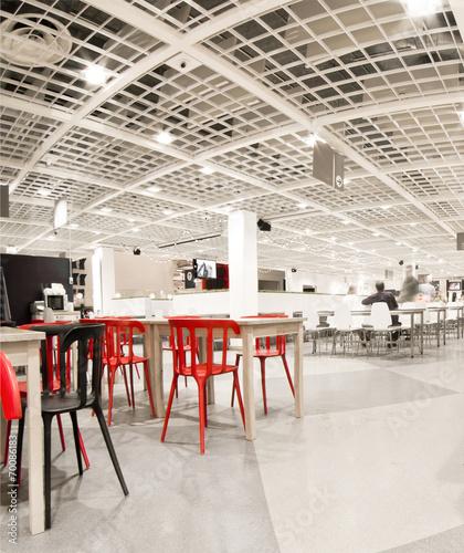 canteen interior - 70086183