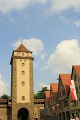 Stadttor in Rothenburg