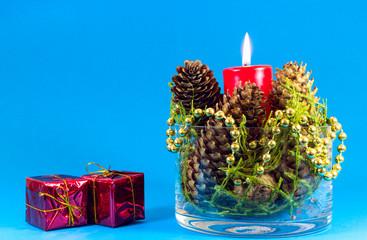 Christmas bowl decoration