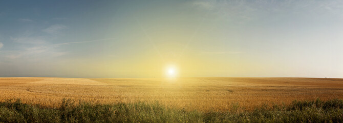 Sun on Plains