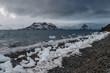 Ice and Antarctic Coastline