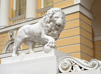marble lions (lions Medici)