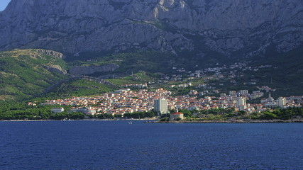 Makarska residental area