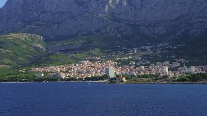 Makarska residental area