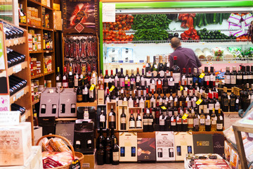 Alcohol store in Logrono, La Rioja