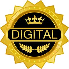 Digital Gold Badge