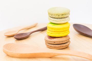 Macaron desserts