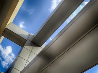 office building part sky