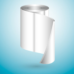 Metal roll, vector illustration