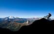 Mountainbiker in den Alpen - 70090951