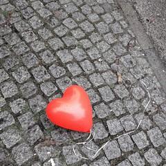 Ballon Liebe Allein