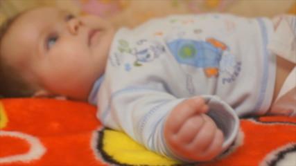 baby hand closeup