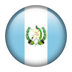 Guatemala flag button