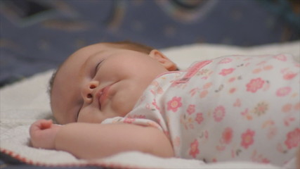 infant baby during sleep