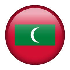 Maldives flag button