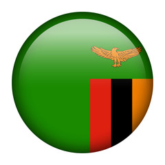 Zambia flag button