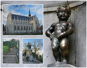 Carte postale de Bruxelles