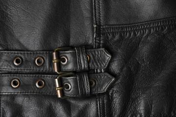 leather jacket buckles
