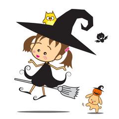 Halloween Little Wizard