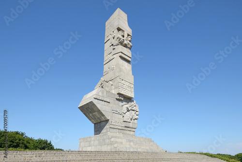 fototapeta na ścianę Westerplatte