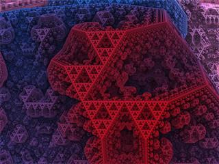 Sierpinski tetrahedron city