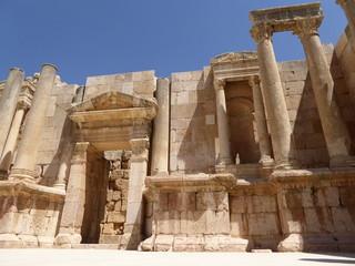 Ruinas romanas de la antigua Gerasa (Jerash), Jordania