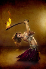 Dancing with Fire and Sword