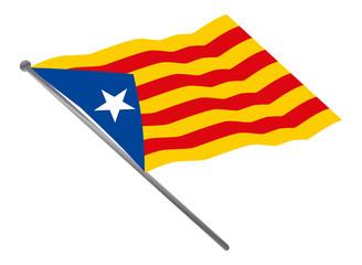 """Estelada"" the Catalan flag"