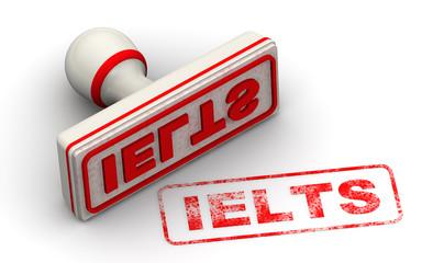 Экзамен IELTS. Печать и оттиск