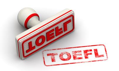 Экзамен TOEFL. Печать и оттиск