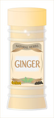 Ginger in Jar