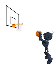Android Basketball Player