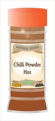 Hot Chilli Powder Jar