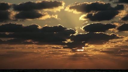 sky . sunset