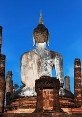 Buddha statue are Sukhothai in thailand