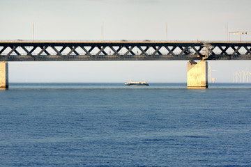 Szwecja, Malmo, most nad Sundem