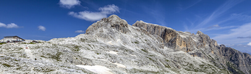 Panorama of Monte Corona in the Dolomites