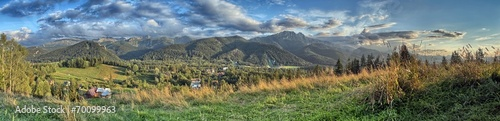 Tatra Mountains - Panorama with view on Giewont - 70099963