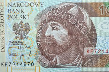 ten zloty polish banknote