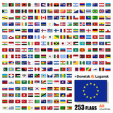 World Flags Collection - All Sovereign States Set - Vector poster