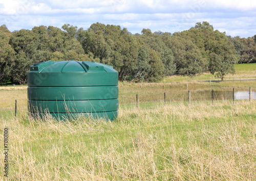 Large fresh eco water tank on rural property - 70101100